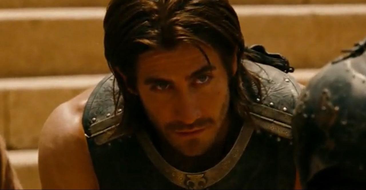 jake gyllenhaal - prince of persia fight scene   masculine beauty