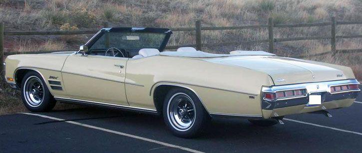 1970 buick wildcat convertible wheels wings waves. Black Bedroom Furniture Sets. Home Design Ideas