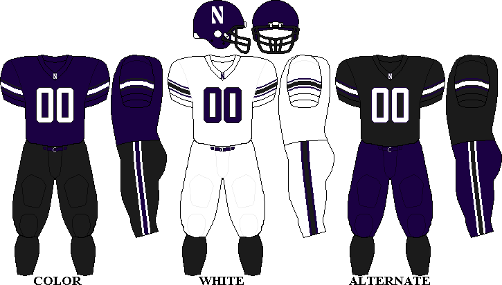 the latest afea7 5d5f4 Northwestern Wildcats Football Team uniforms | Northwestern ...