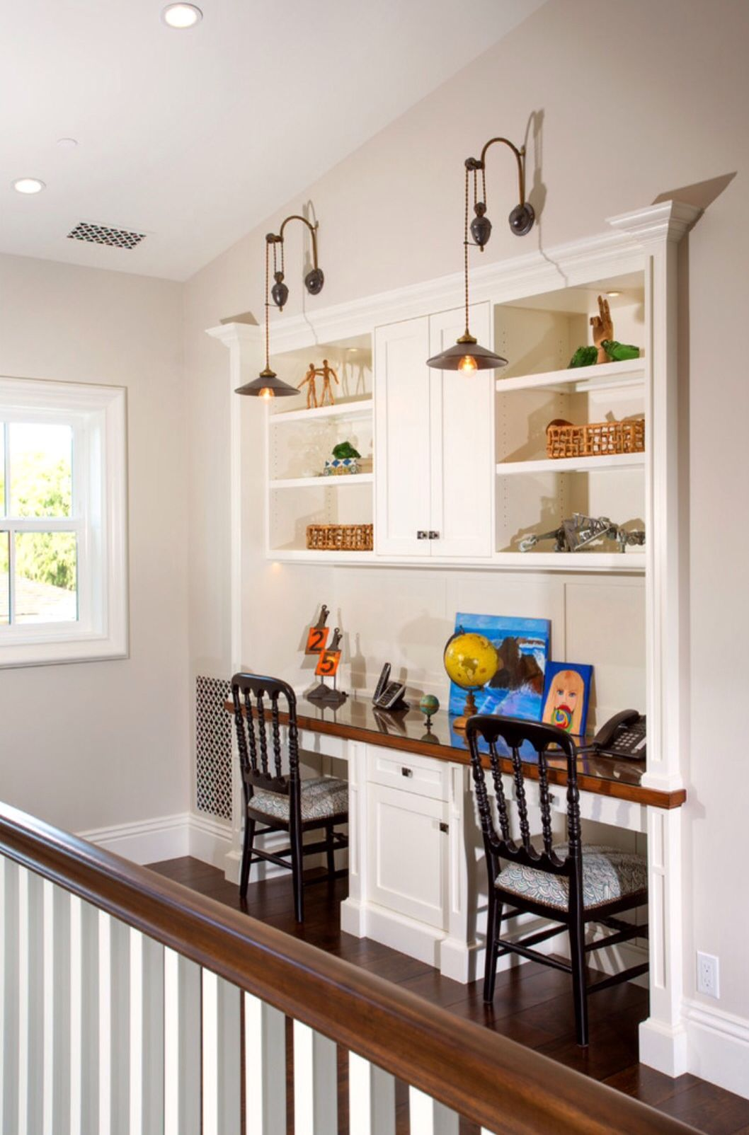 traditional custom home office. Traditional Kids By Toblesky-Green Architects~ Limited Space, Homework Station Custom Home Office W