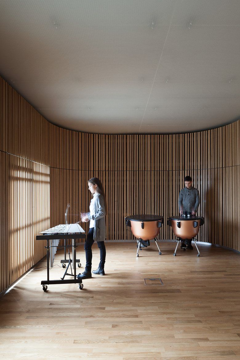 Sonor museum picture gallery acoustic architecture interior architecture interior design dezeen