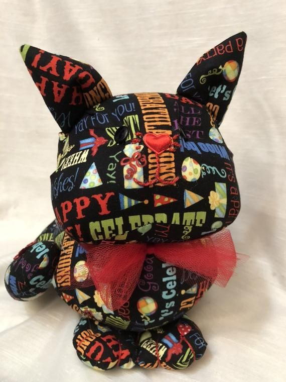 Handmade item  stuffed animals, stuffed cat, a cat lovers gift, soft sculpture, fun pillow, a great gift for kids of all ages, unique gift,