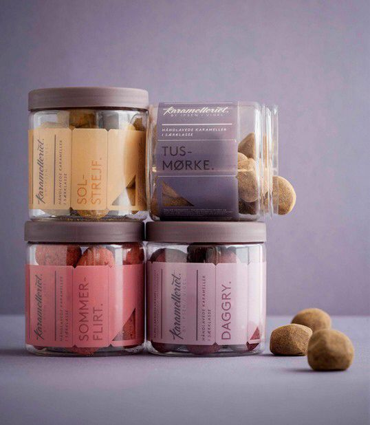 Karamelleriet #packaging