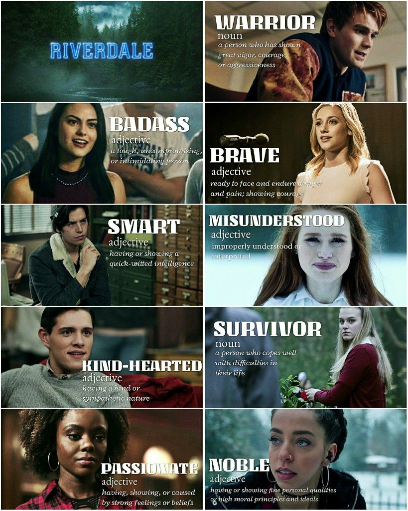 Riverdale Main Characters + Traits