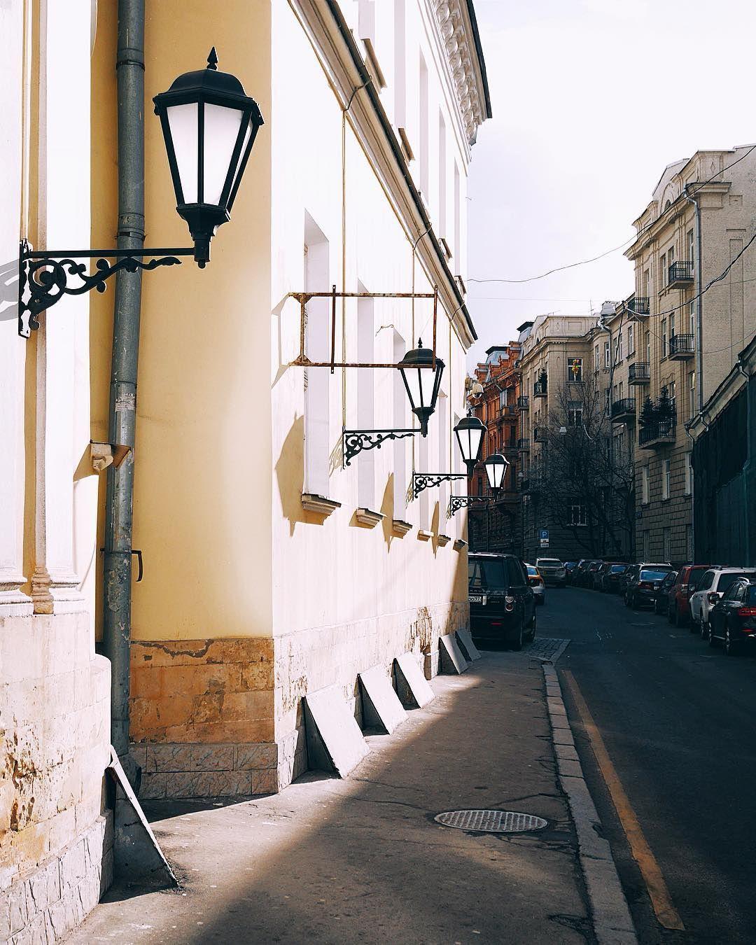 Неожиданные московские улочки с привкусом Европы. И все ...