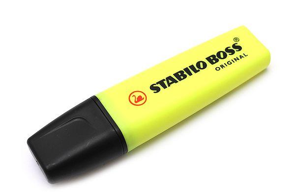 Stabilo Boss Original Highlighter Pen - Yellow