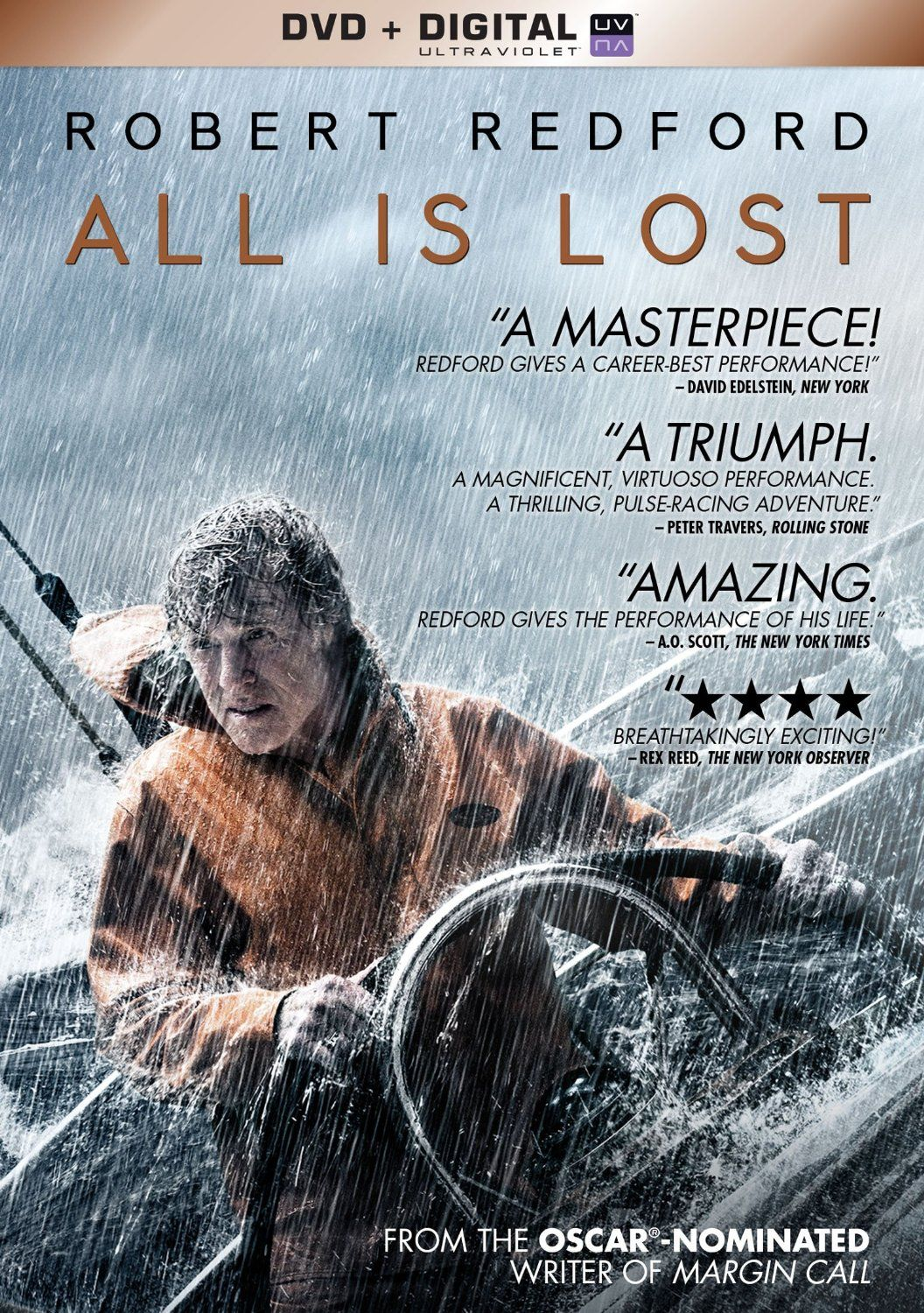 All Is Lost  Rated PG-13 | New DVDs at the Library | All is lost