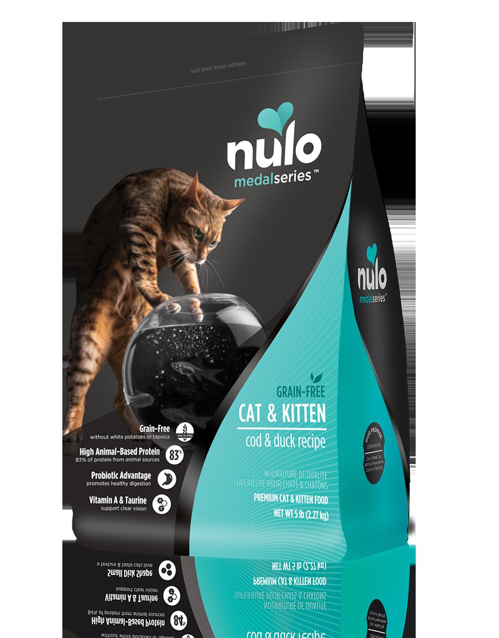 Nulo Medalseries Cat Cod Duck Kitten Food Food Animals Free Cat Food