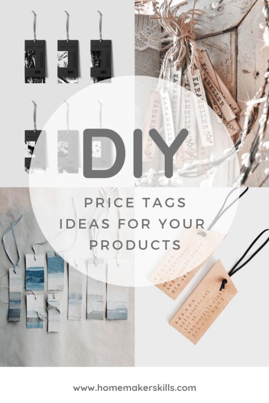 Diy Price Tag Ideas For Professional Craft Businesses Professional Crafts Business Gift Tags Price Tag Design