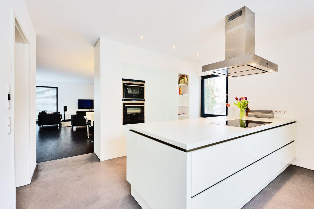 Blick ins wohnzimmer aus der küche interior einrichtung dekoration