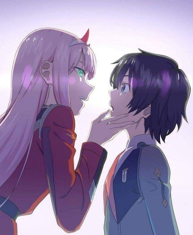 Zero two X hiro (Có hình ảnh)   Anime, Hình ảnh, Cặp đôi