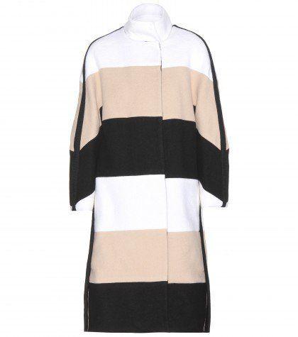 Pin for Later: Wartet nicht bis es zu spät (oder zu kalt) ist, um diese Mäntel zu kaufen Chloé Mantel Chloé gestreifter Wollmantel (1.980€)