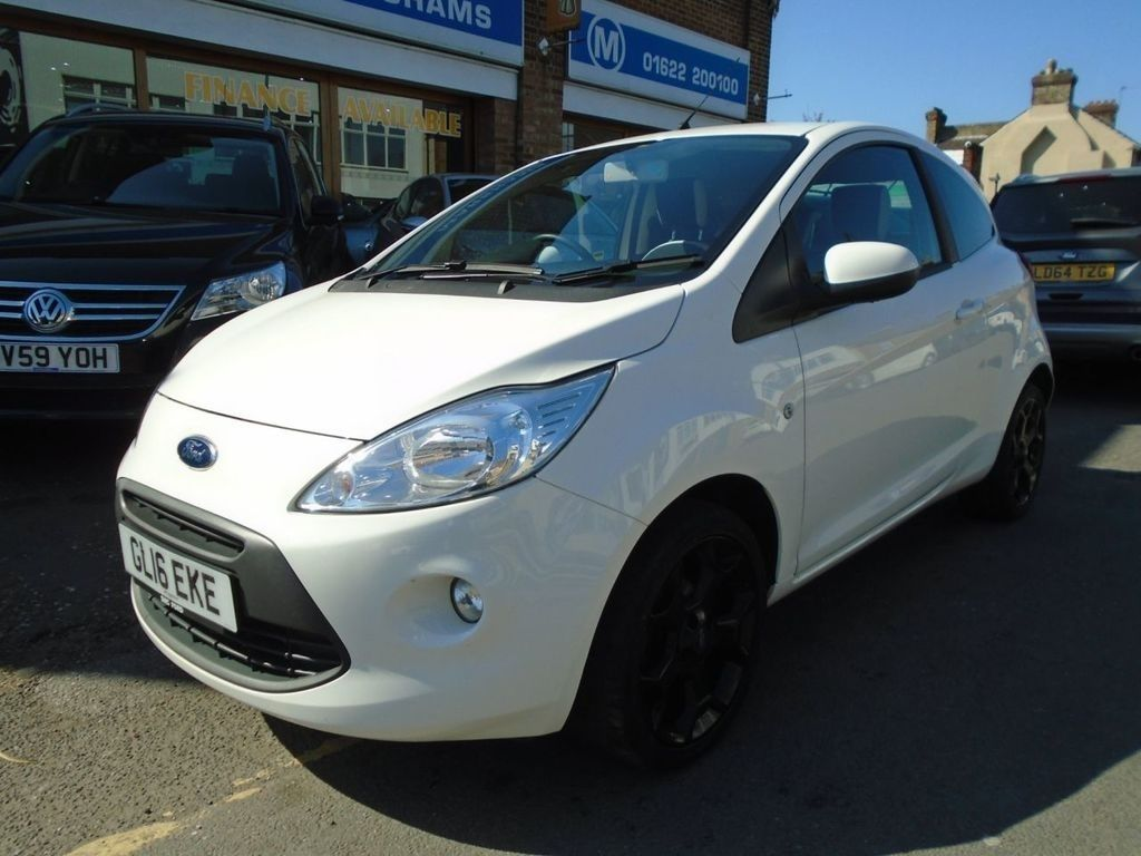 2016 16 Ford Ka 1 2 Zetec White Edition 5 994 Ford