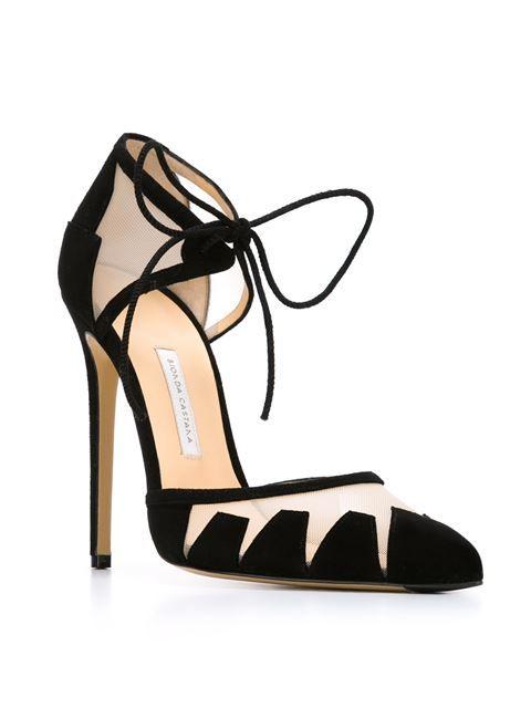 designer black pumps on sale
