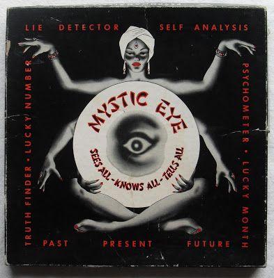 """modernizor:  """" Mystic Eye / Vintage Fortune Teller Illustration  """""""