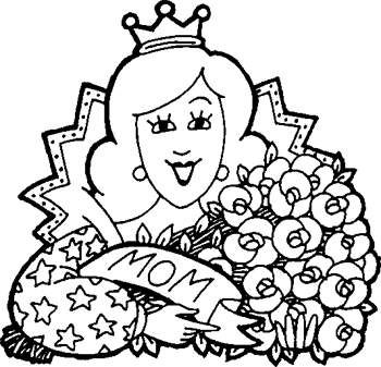 Mothers Day Coloring Pages  Teacher Fan  coloring pages for kids