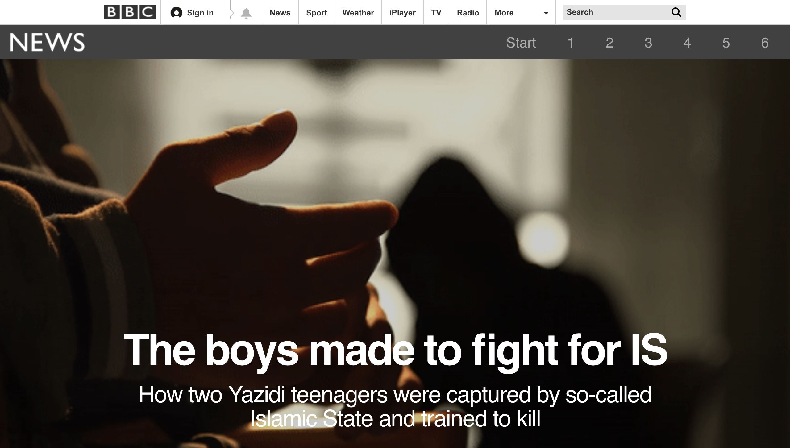 The boys made to fight for IS   Shorthand stories   Bbc news ...