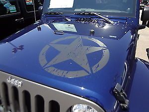 Distressed Star Graphic Decal Decals Fit Jeep Wrangler Jeep Stickers Jeep Wrangler Jeep Cars