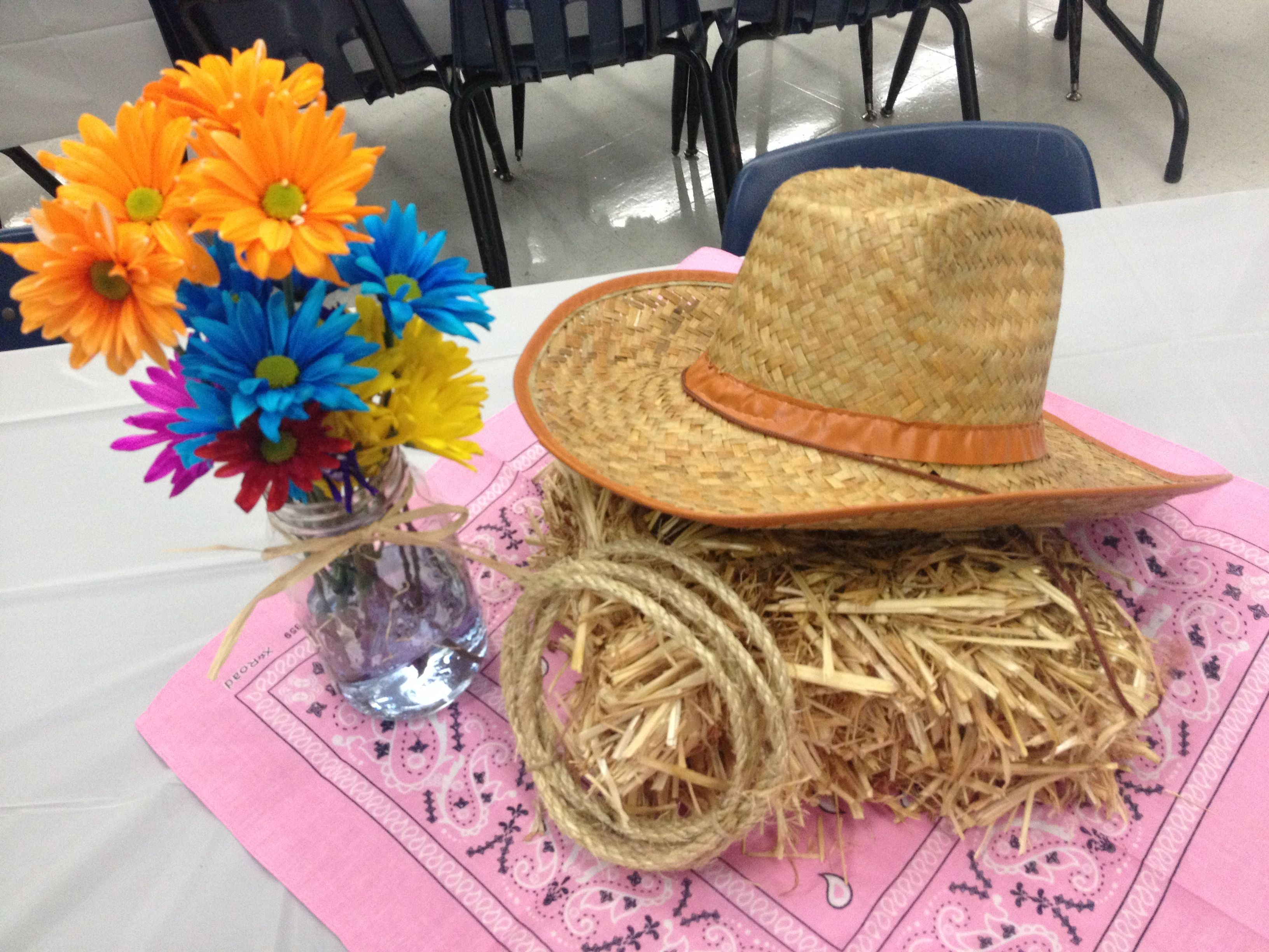 Delightful Western Theme Party Decorating Ideas Part - 14: Western Party Decoration