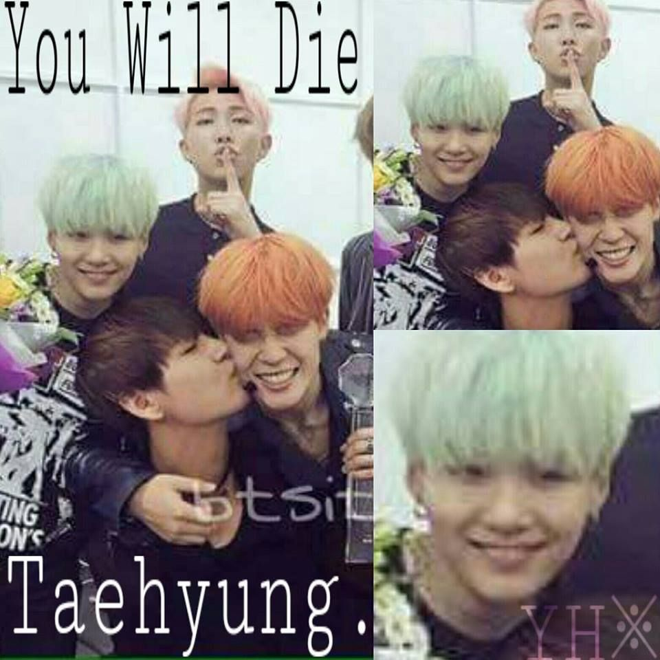 """Suga be like while smiling """"Die you bitch"""""""