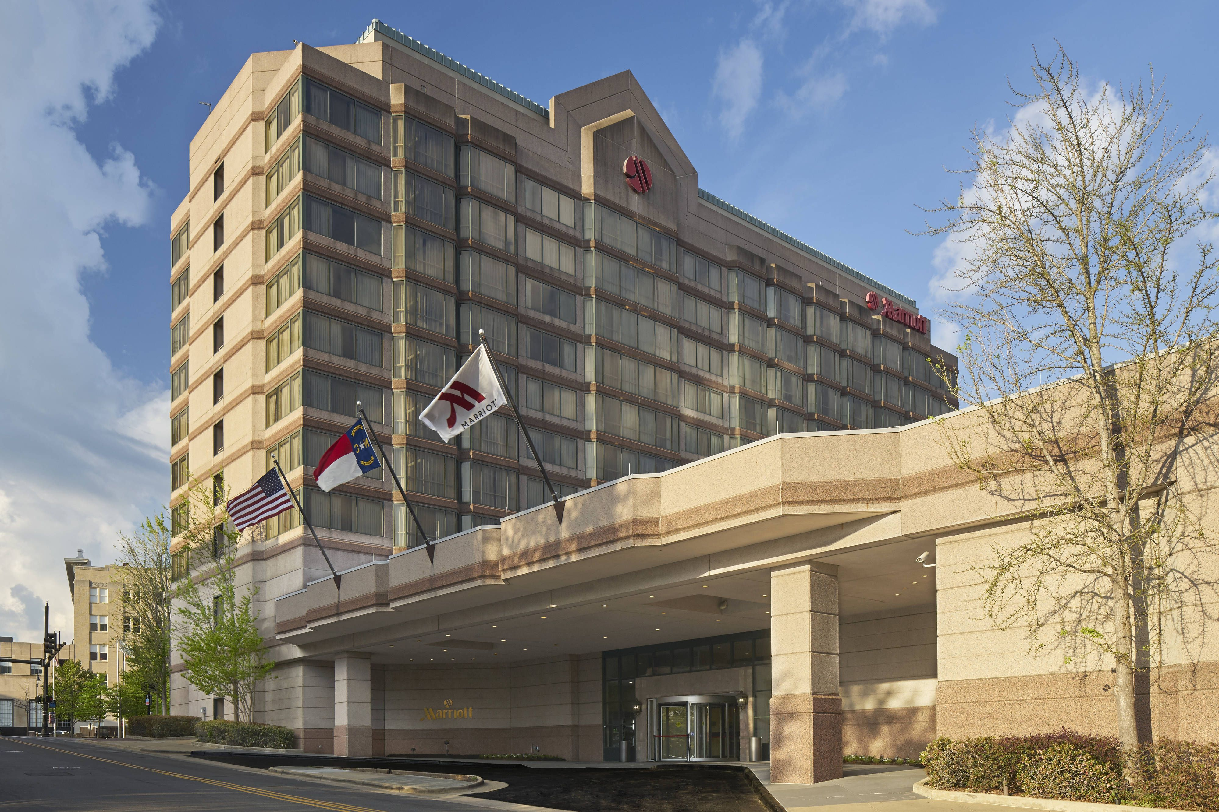 Durham Marriott City Center Exterior Holidays Beautiful Hotels