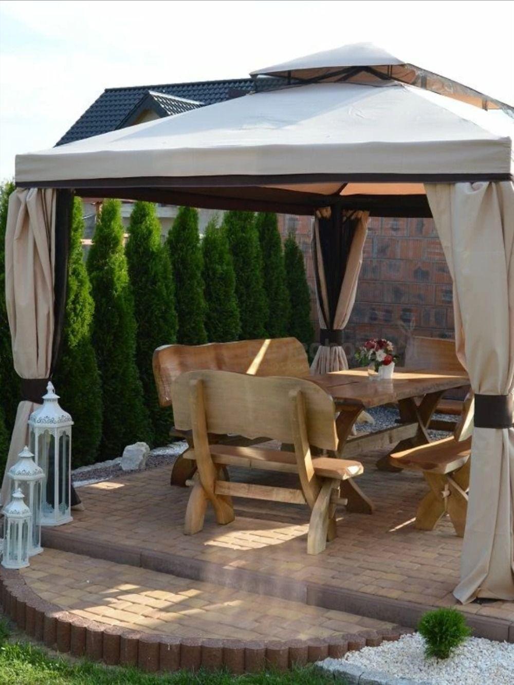 Pawilon Ogrodowy Z Moskitiera Walencja 3 X 4 M W Ogrodosfera Pl Outdoor Structures Gazebo Outdoor