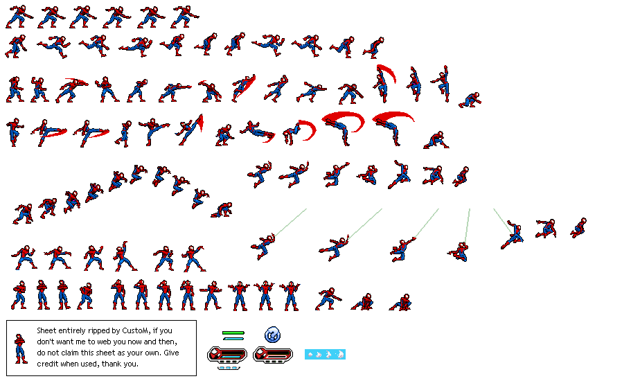 Image Result For Spiderman Sprite Sprite Arabic Calligraphy