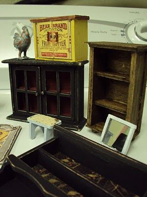Many Mini Projects With Michael S Hutches Miniature Furniture