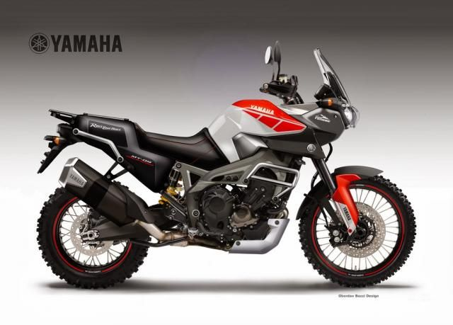 yamaha t n r 700 in arrivo a intermot 2016 big trails pinterest as in and 700. Black Bedroom Furniture Sets. Home Design Ideas