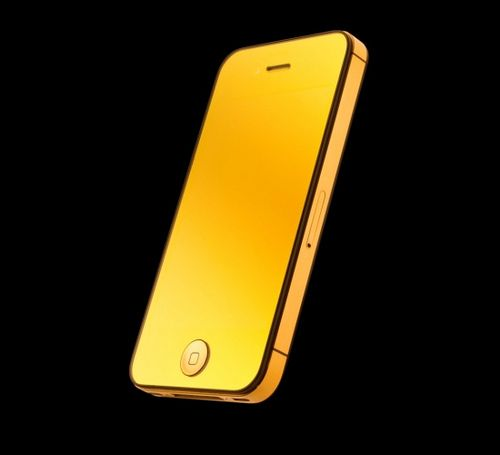 Amosu Couture offers 24ct mirror gold iPhone 4S | for my