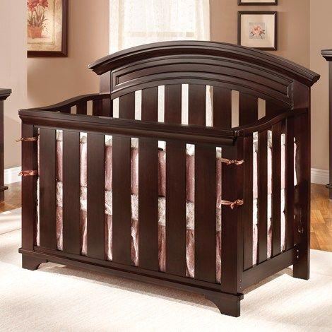 Geneva Crib - Chocolate   baby girl...someday   Pinterest