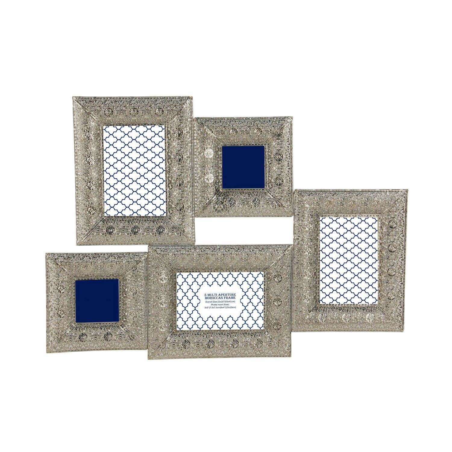 Buy 5 Multi Aperture Moroccan Frame - Photo Frames - The