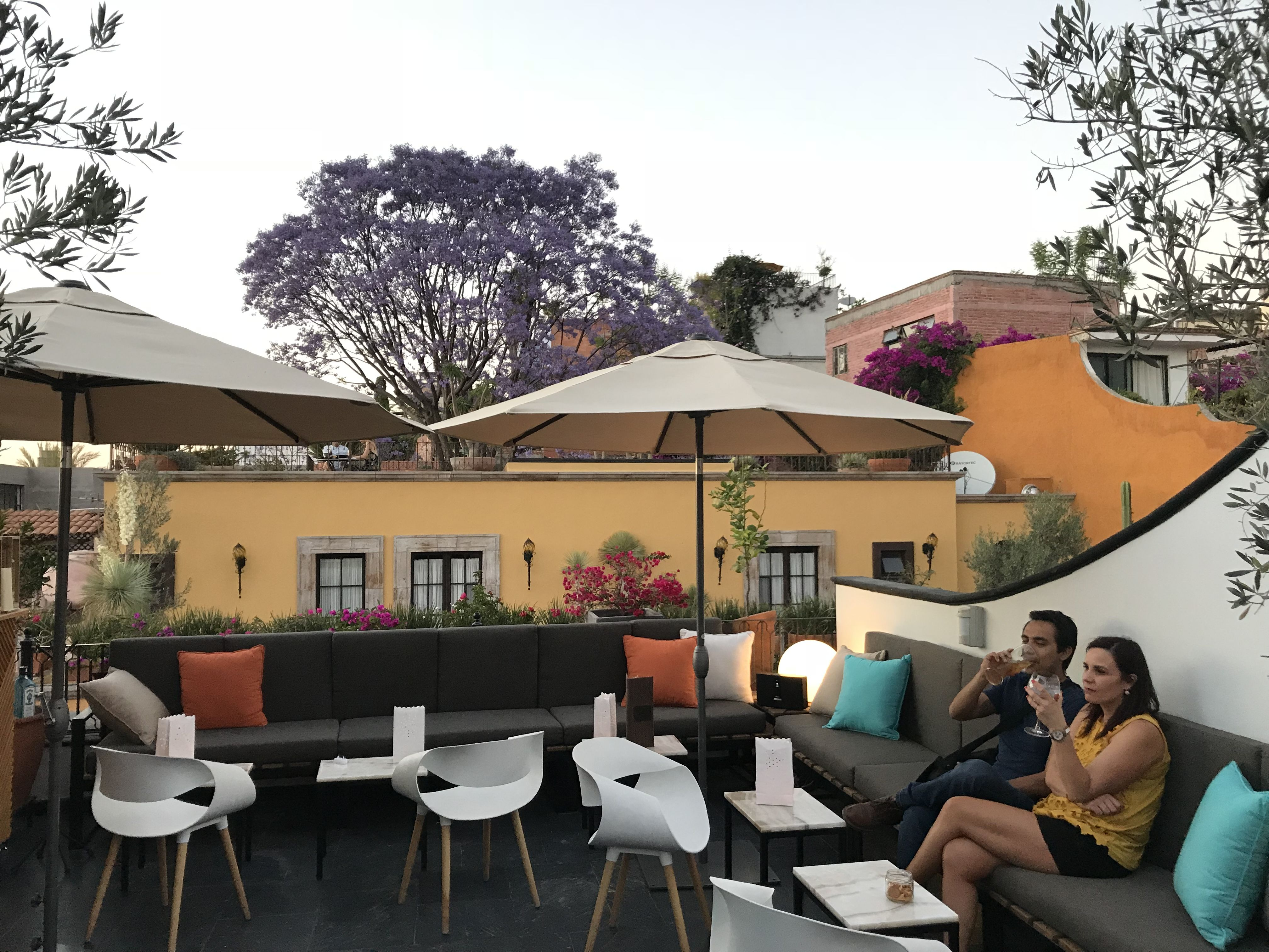 Casa Nostra Opened In February 2018 This Is A Wonderful Addition To The Dining Scene For Mediterranean Cuisine It Rooftop Dining Rooftop Patio Rooftop Restaurant