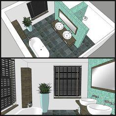 Badezimmer Einteilung T-Form | bathroom | Bathroom layout ...