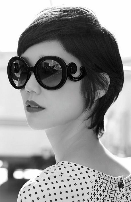 The next time I get crazy and chop my hair off, it'll more than likely be this.