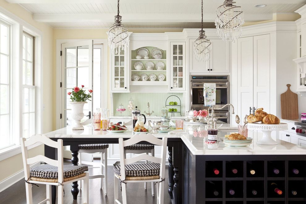 Shabby Chic Your Heart Out - traditional - kitchen - minneapolis - Martha O'Hara Interiors