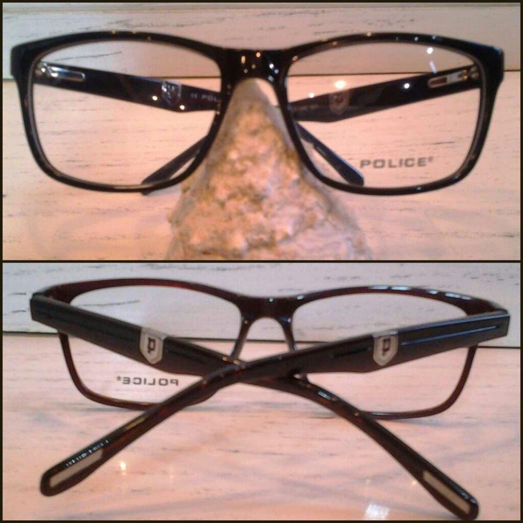 شنبر طبي يوني باغة ماركة بوليس Police سعر إفرست للنظارات 250 ج م بدلا من السعر الرائج 300 ج م موديل V8912 متوفر في 4 ألوان Glasses Glass Rectangle Glass