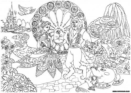 Beautiful Fall Printable Coloring Pages For Adults Thanksgiving ...