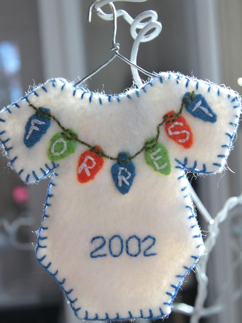 Personalized onesie ornament Made to order Etsy in 2020