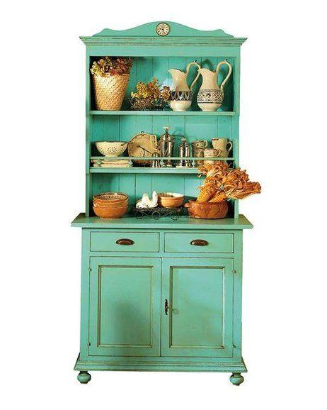 Mueble de cocina alacena aparador antiguo vintage, de campo ...