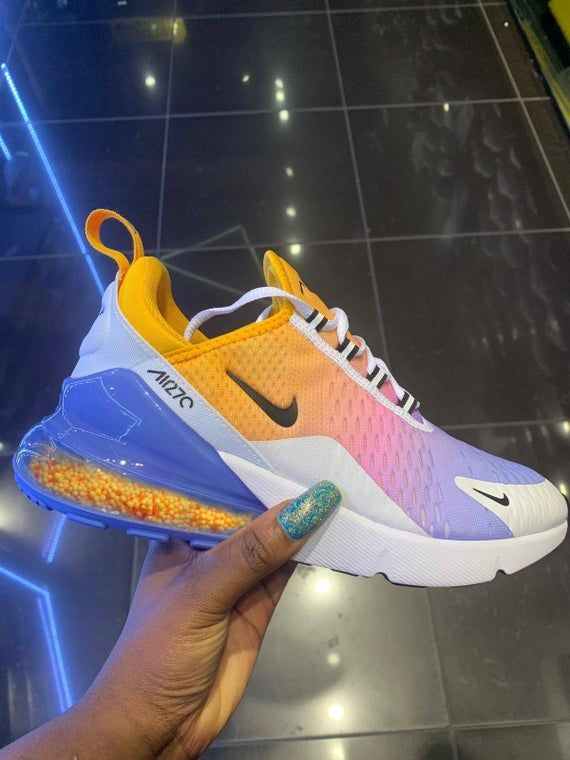 Nike Air Max, Candy, Air Max 270, Custom, Nike Air Max, Nike Shoes, Custom Shoes, Air Max 270,Shoes,Unisex Mens Women' Shoes