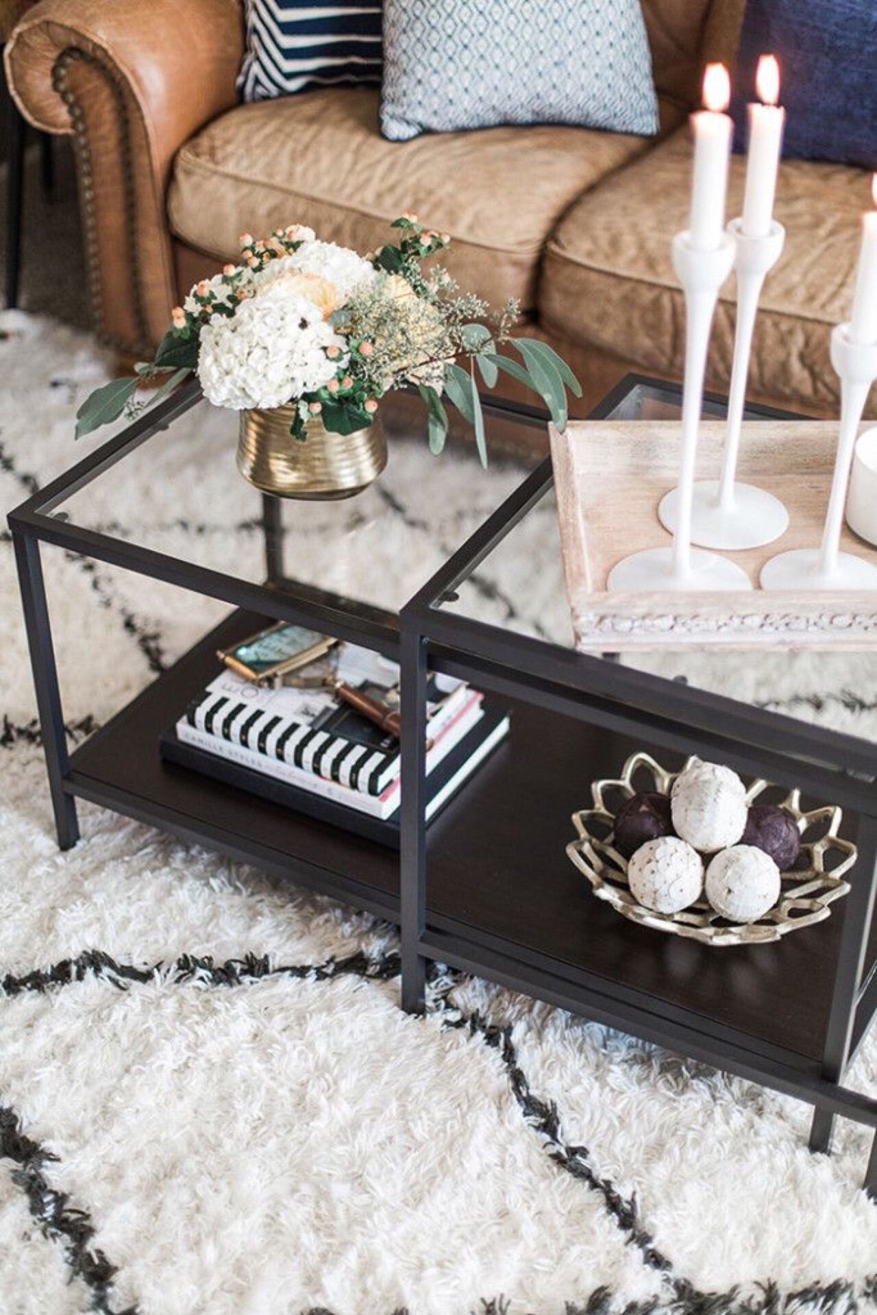 Pin By Navo Wickramasinghe On Living Space Ikea Side Table Decorating Coffee Tables Apartment Decor [ 1919 x 1280 Pixel ]