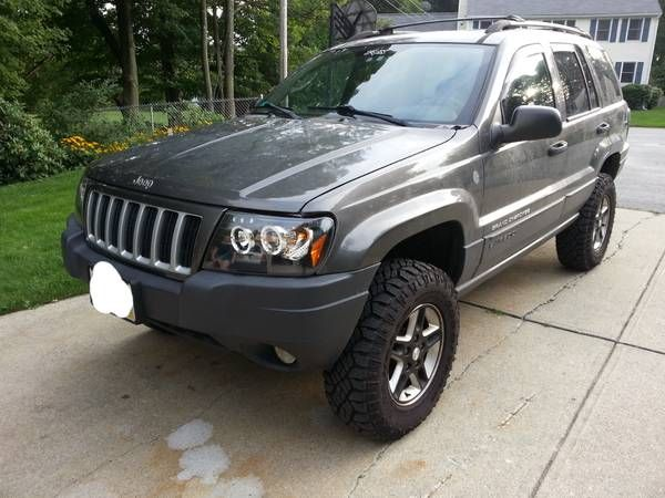 04 Jeep Grand Cherokee 4 Lift