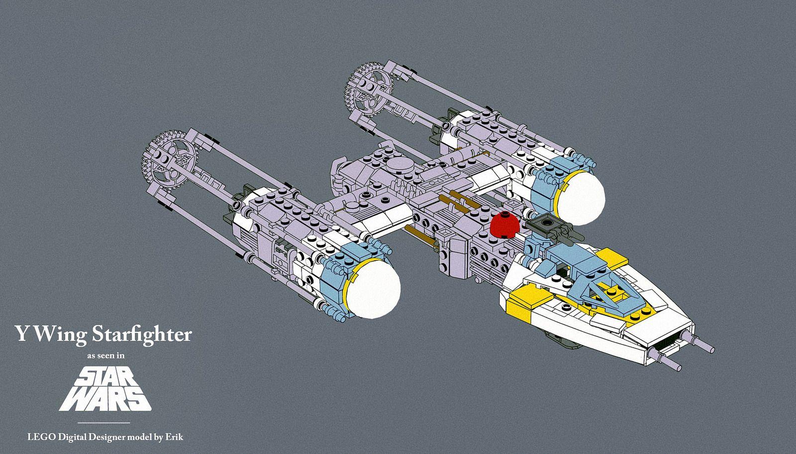 Y Wing By Miracieboy Project Lego Y Wing Pinterest Lego