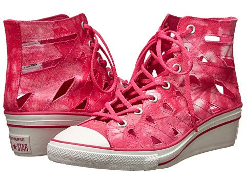 04b6d55b97e49b Converse Chuck Taylor® All Star® Hi-Ness Cutout this site had lots of  colors in large sizes. Get men s for D width.