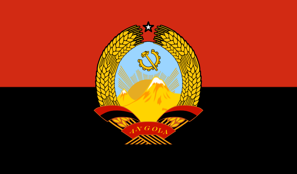 Alternate Coat Of Arms Flag Angola By Columbiansfr Coat Of Arms Flag Arms