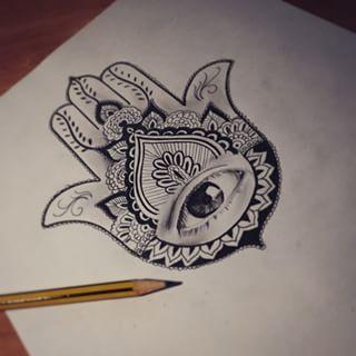 Tatuajes En La Muñeca De La Mano De Fatima Buscar Con Google