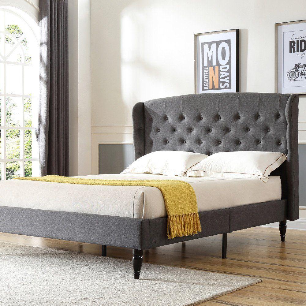 Amazon Com Classic Brands Decoro Brighton Upholstered Platform