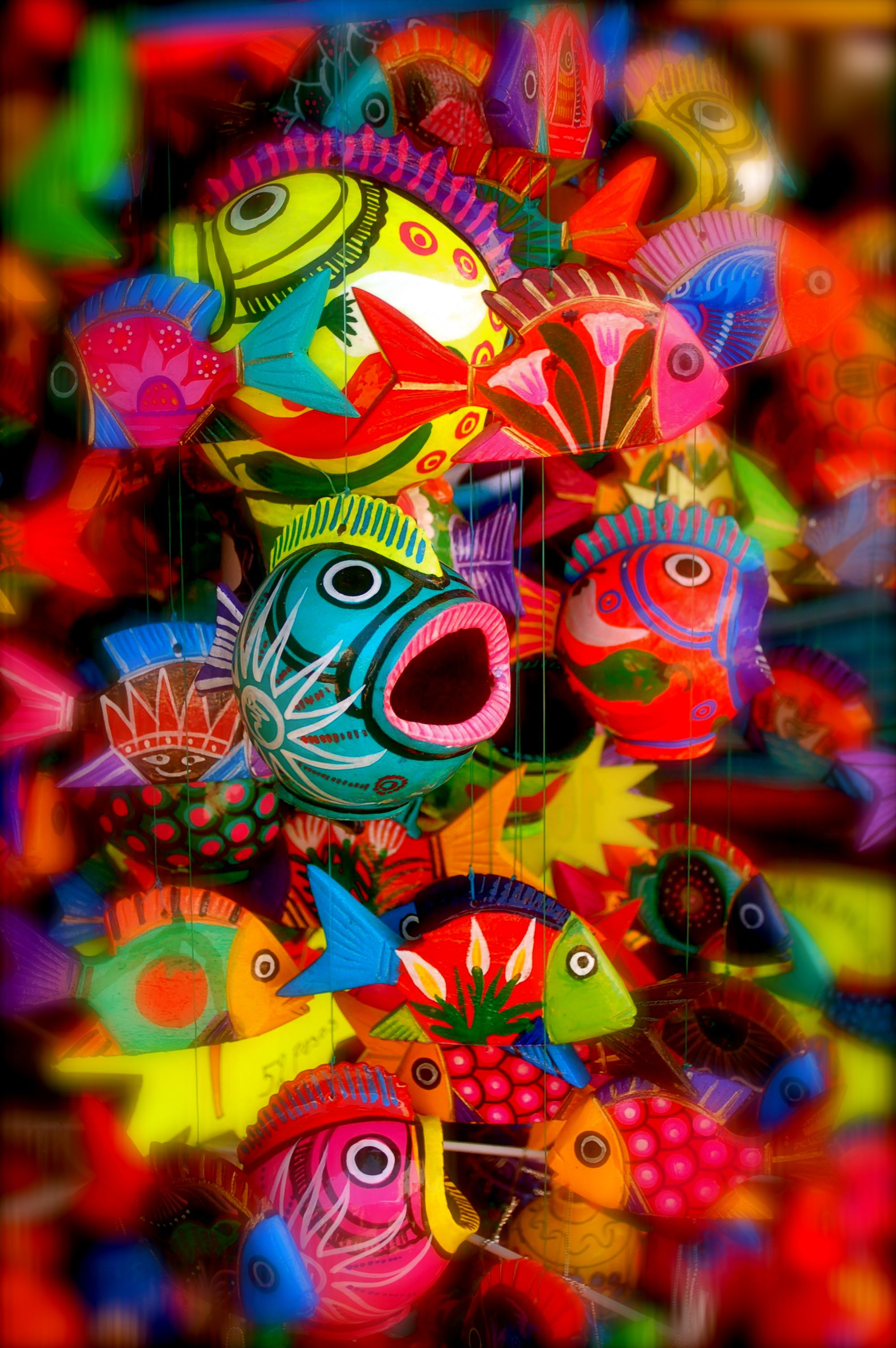 Colors on pinterest holi romero britto and india for What color are fish