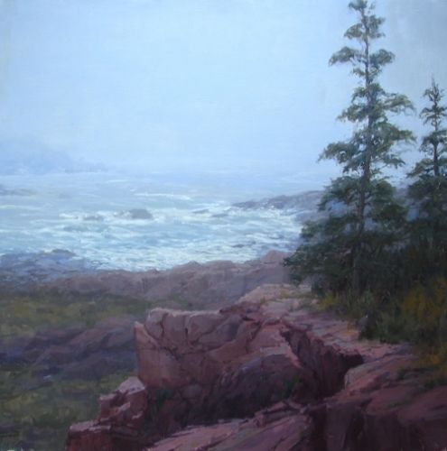 Into the Mystic by Kathleen Dunphy Oil ~ 24 x 24
